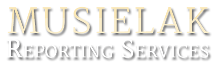 Musielak Reporting Services, Logo